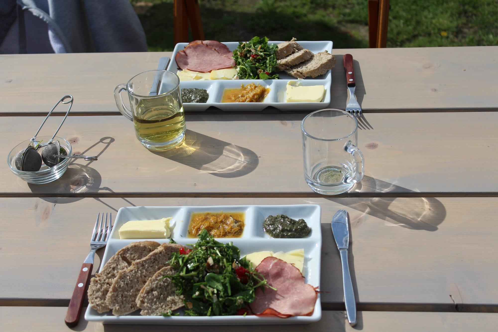 natuur eten lunch Texel groepsuitje bedrijfsuitje outdoor cooking