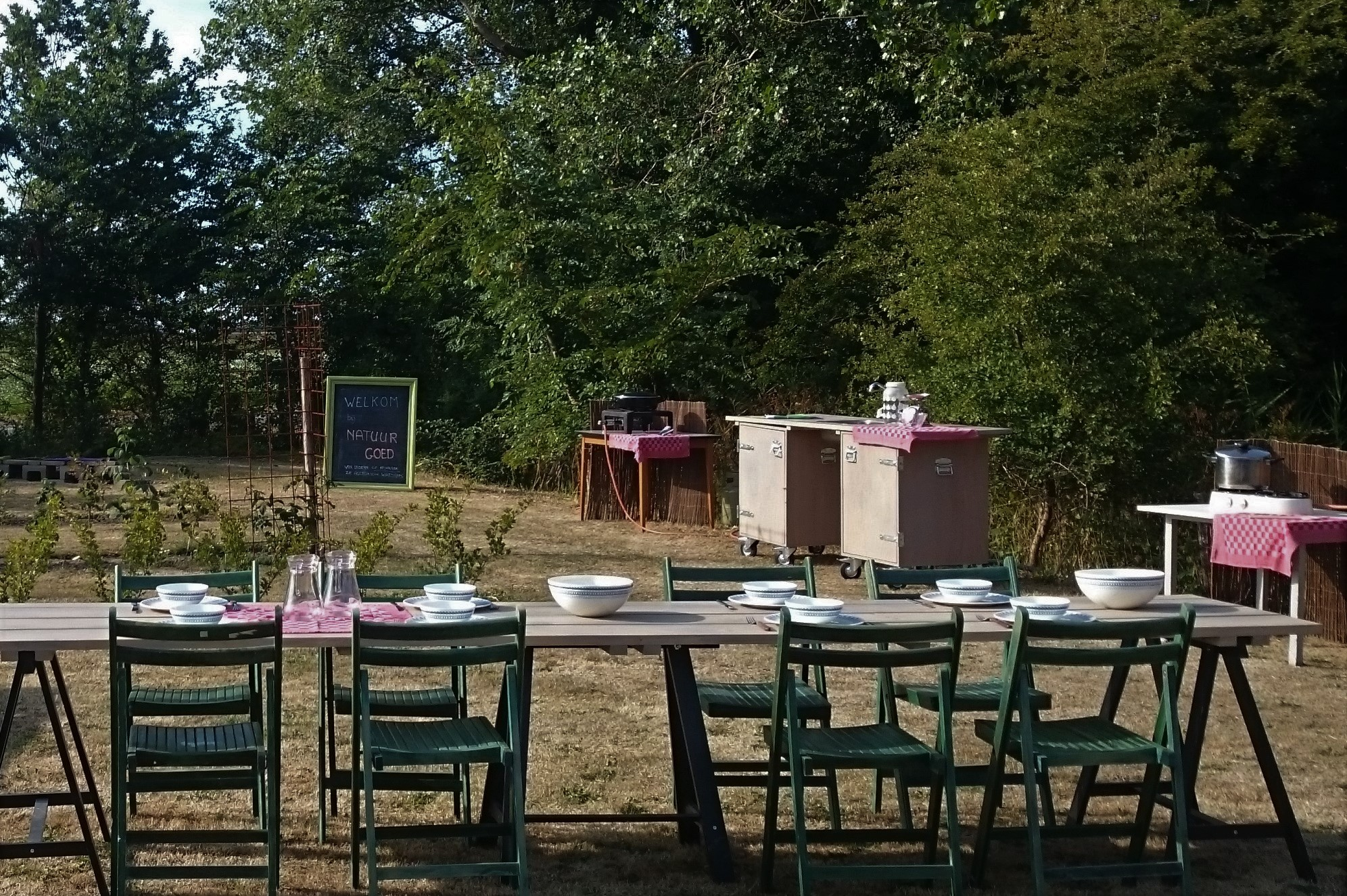koken lunch workshop natuur Oosterend Texel, voedsel bos, eetbare tuin, groenspecialist, tuincoach