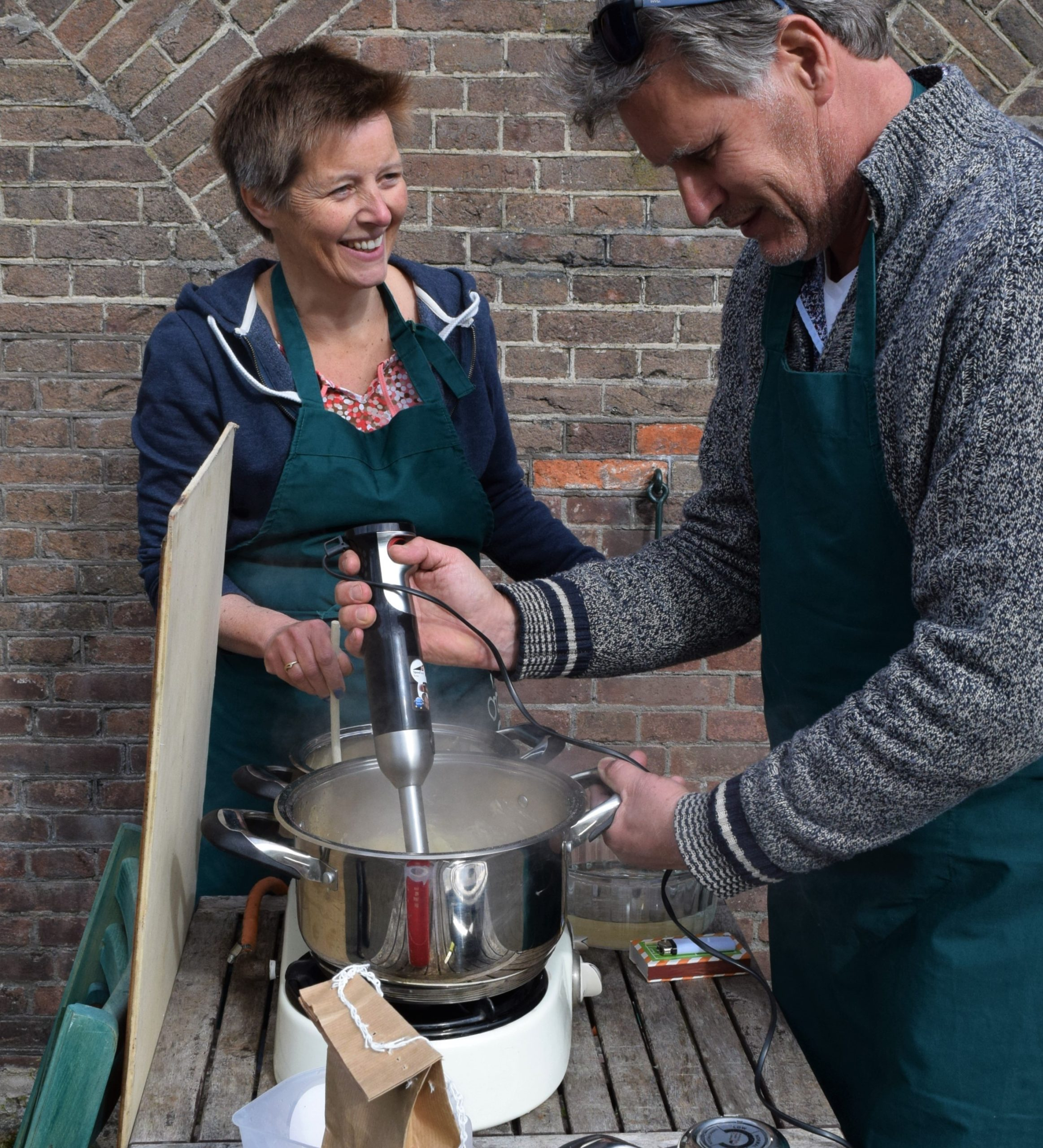 Buiten koken outdoor cooking